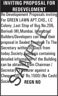 Public Notice in Hyderabad