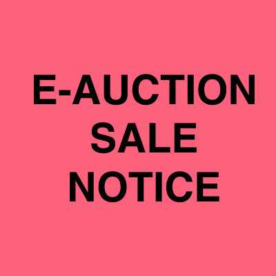 E Auction sale notice ads | Ahmedabad Newspapers