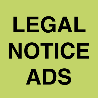 Legal Notice ads | Ahmedabad Newspapers